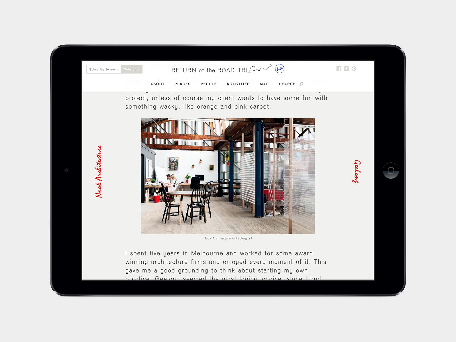 Return Of The Road Trip iPad