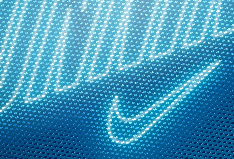 Nike Holiday 15 - Confetti Mesh detail