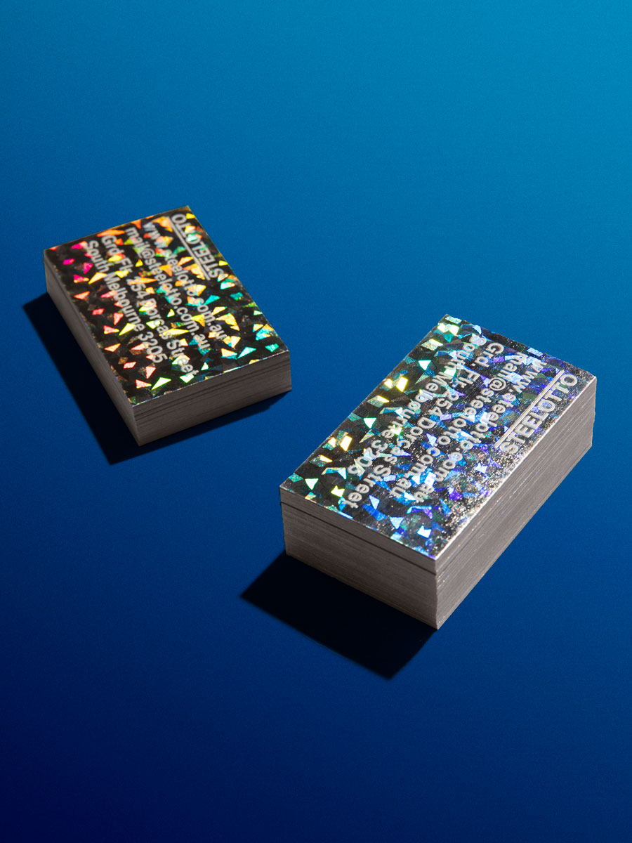 Steelotto Business Cards Speckle